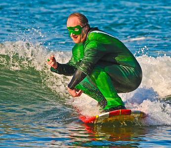 Halloween Surfing
