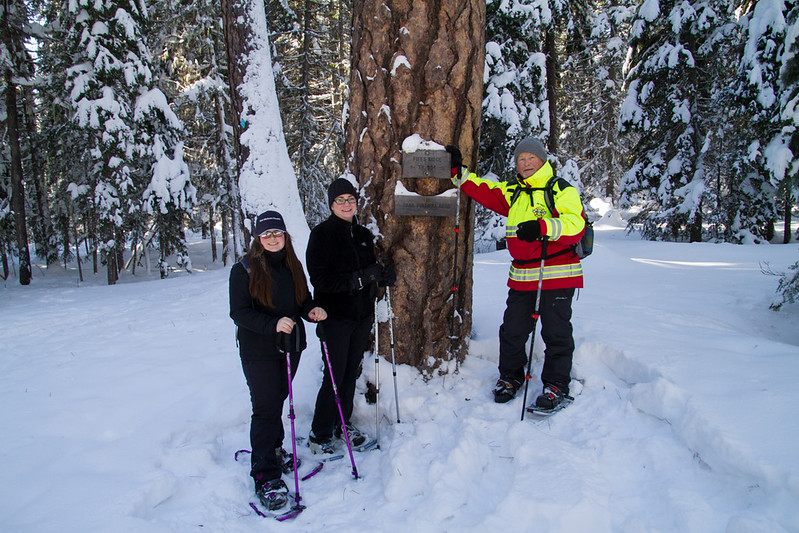 2017 Hikes, Snowshoeing & Camping