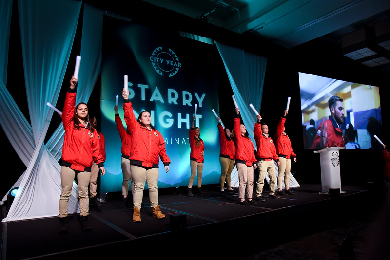 2018 City Year Boston Starry Night - Illuminate