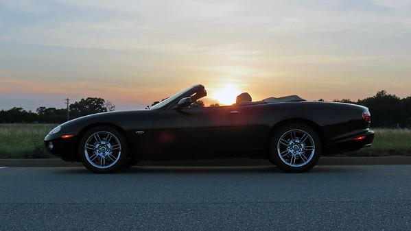 2001 Jaguar XK8 convertible .  .  .