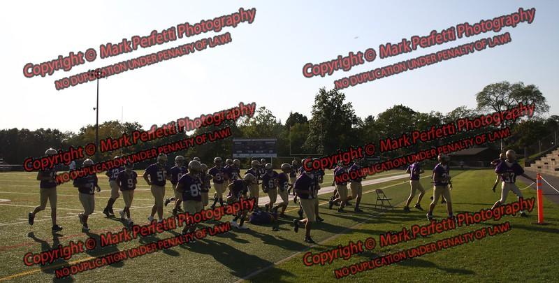 AHS Rams Football practice 9-3-2009