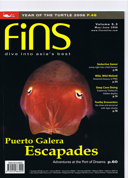 Fins Magazine 2006 article (by Dr Mike Gadd)