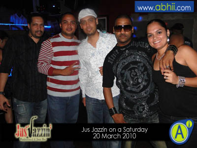 Jus Jazzin - 20th March 2010