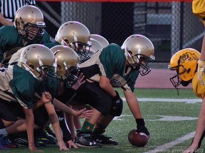 St. Luke vs Blessed Sacrament Football 9-29-2014