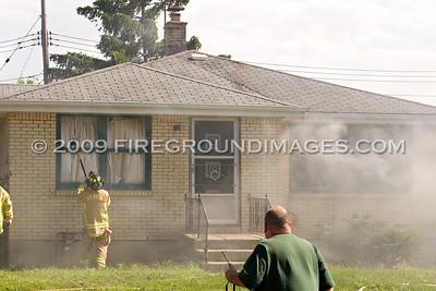 Barone Circle Fire (Cheektowaga, NY) 7/11/09