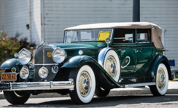San Jose History Park pre-1946 classic car show