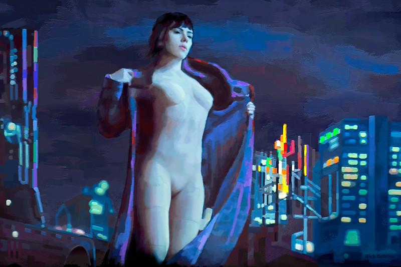 Skarlett Johansson - Digital Painting