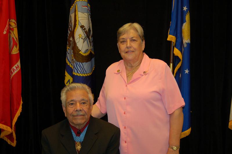 Silvestre Herrera and Pat Patton
