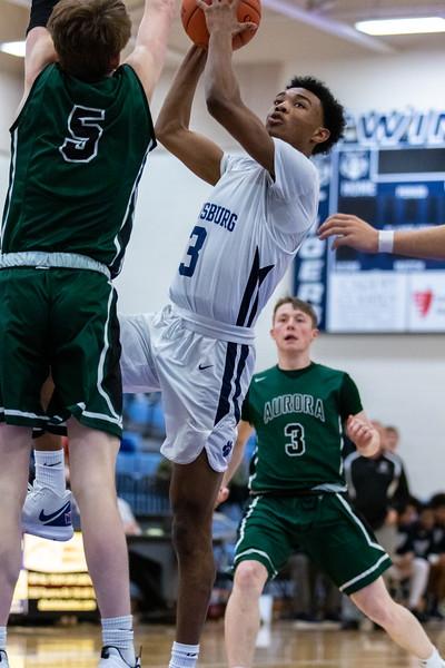 2020-02-08 --Twinsburg Boys Varsity Basketball vs Aurora High School Varsity Basketball