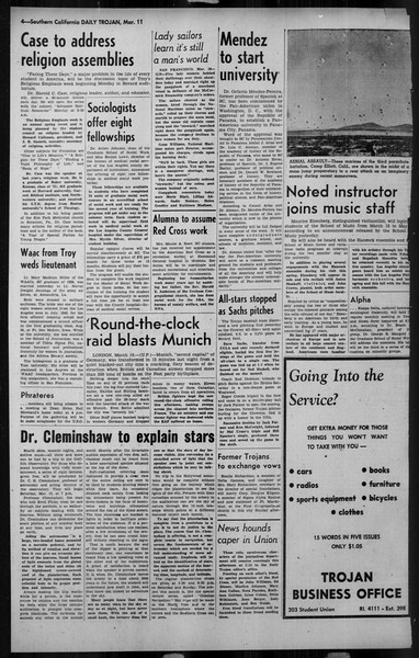 Daily Trojan, Vol. 34, No. 102, March 11, 1943