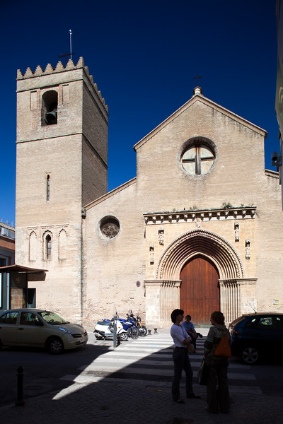 Santa Marina church (13th century), Seville, Spain