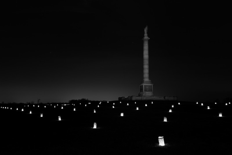 Memorial Illumination 2011, New York State Monument