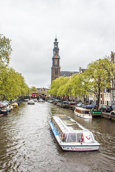 Prinsengracht and Nieuwe Kerk