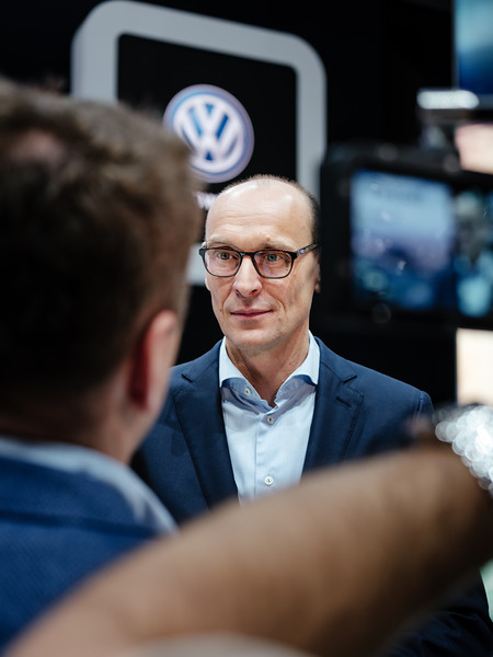 Ralf Brandstätter Chief Operating Officer Volkswagen - Samuel Zeller for the New York Times