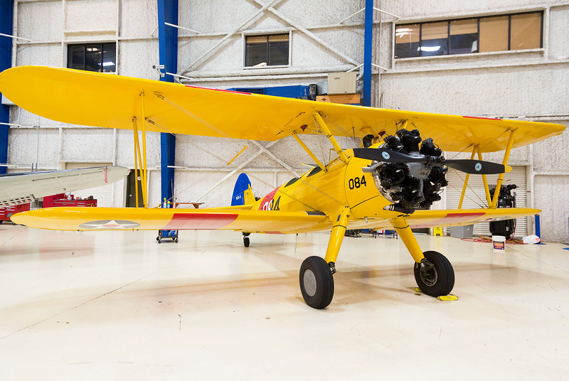 Boeing-Stearman N25-3 WW-II primary trainer ...