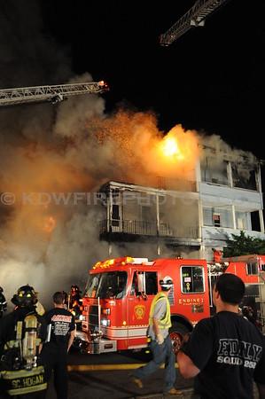 Everett, MA - 3rd Alarm - 17-19 Bow St - 5/25/10