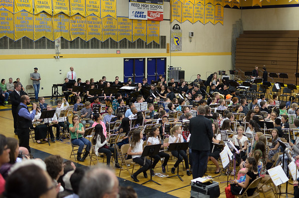 Reed Zone Concert 2015