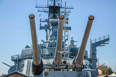 Battleship USS Iowa