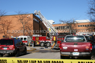 Shelton High School 3rd Alarm (Shelton, CT) 12/30/08