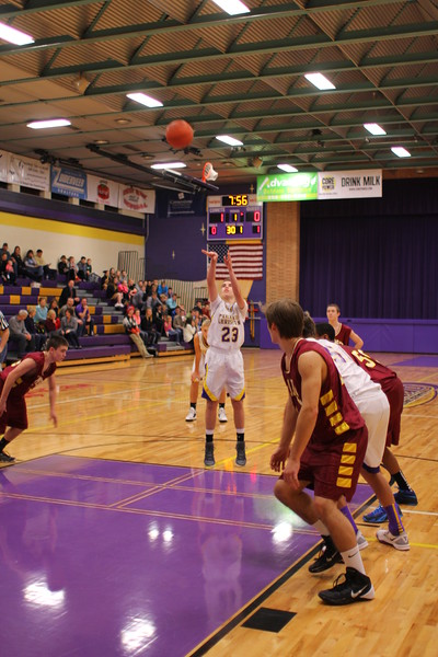 Basketball Boys JV vs. Galesburg - 1/20/15 - KCHS