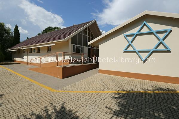SOUTH AFRICA, North West, Klerksdorp. Klerksdorp Synagogue (2.2013)