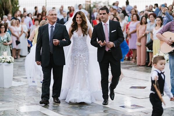 Kalmi & Tasos 🎀 Wedding in Salamina, Greece