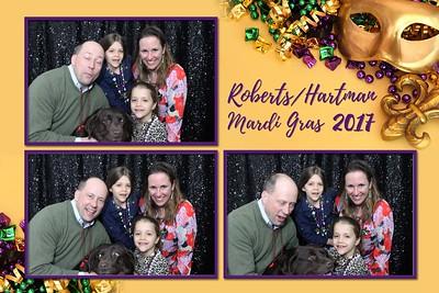 Roberts/Hartman Mardi Gras 2017