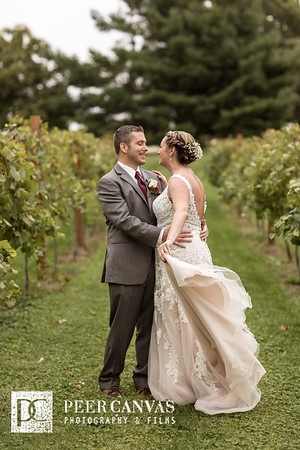 Kristi and Chris DC Estate Winery Wedding