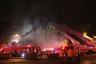 Boston, MA - 4th Alarm, 877 Beacon Street, 11/2/14
