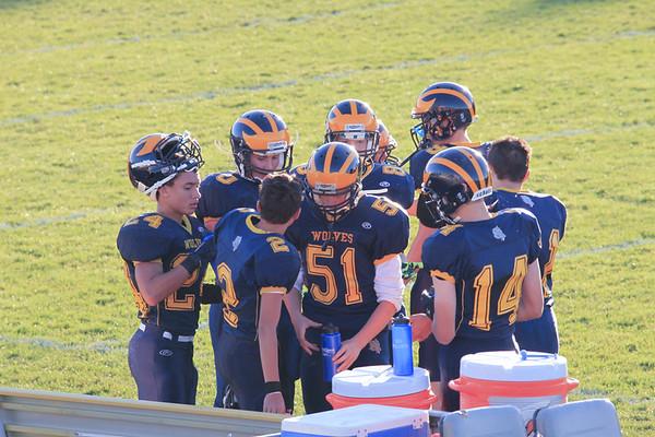 Freshman Football 10-23-2014