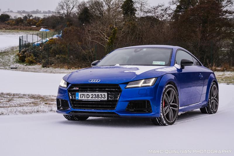 Audi TTS Snow  - St Patrick's Day 2018