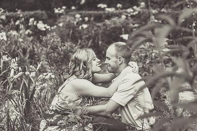 Steven and Stephany's Garden Engagement
