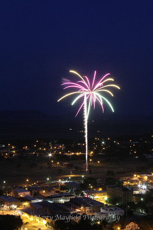 Raton NM July 4th Fireworks