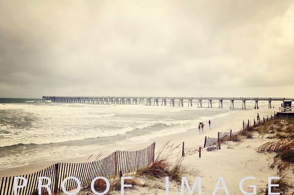 Tropical Storm Lee - Navarre Beach 9-4-11