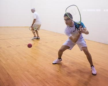 Men's Singles Open Semis Miguel Nunez Jr over Ross Weinberg