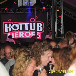 Feestavond Hottub Heroes