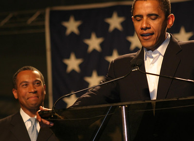 Patrick & Obama 11.3.2006