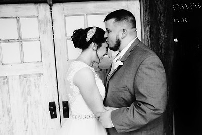 Robertson Wedding - B&W
