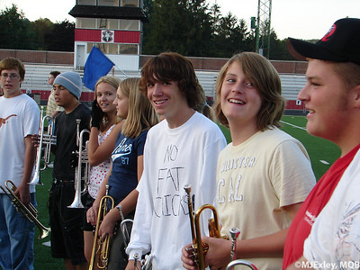 2009 8th Grade Band Rehearsal