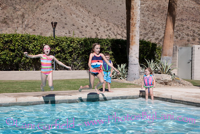 Colleen and Family Palm Springs Photo Shoot