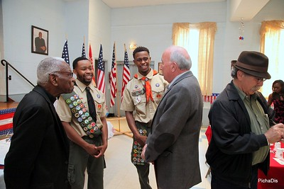 Eagle Scout Ceremony Rashawn Vailes and Stephan Vailes - June 17,2017