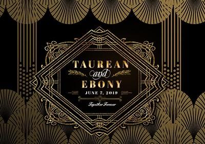 Taurean & Ebony's Wedding!