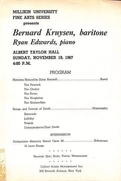 1967-1968 MU Scrapbook