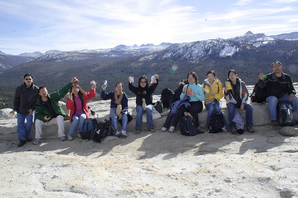 ISM Yosemite Trip Fall 2007