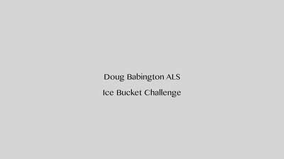 Doug Babington ALS Challenge