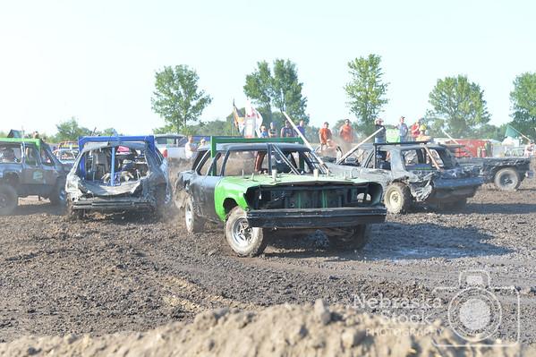 2017 Pierce County Fair Demo Derby