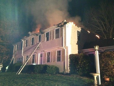 Structure Fire - Unknown Address, Canton, CT - 11/13/14