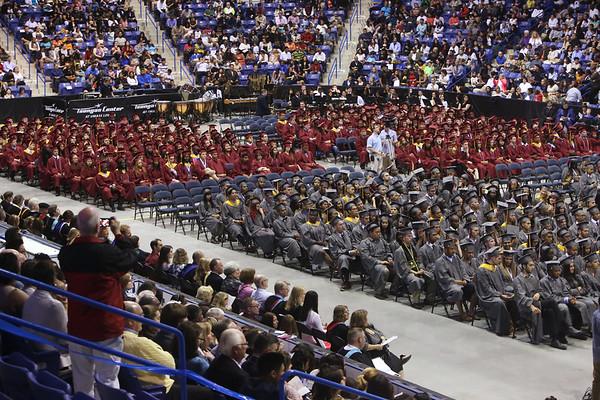 Lowell High graduation 060315