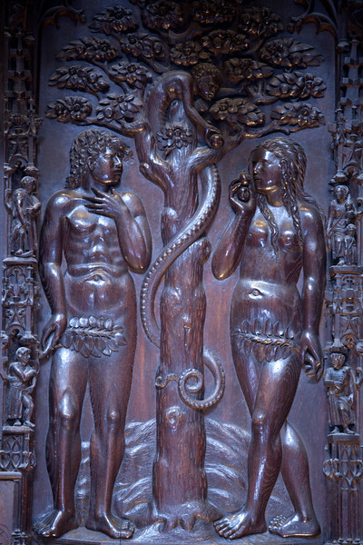 Auch Cathedral Choir, Adam and Eve