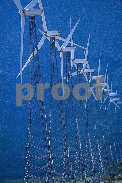 wind power, Palm Springs, CA